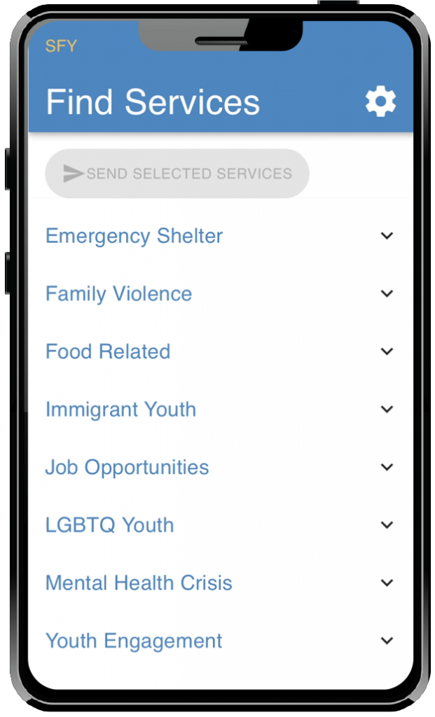 Categories can be customized for your jurisdiction.